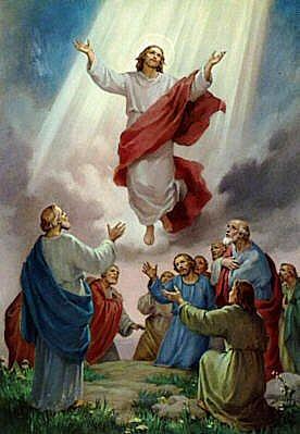 isusovo uskrsnuce na nebo